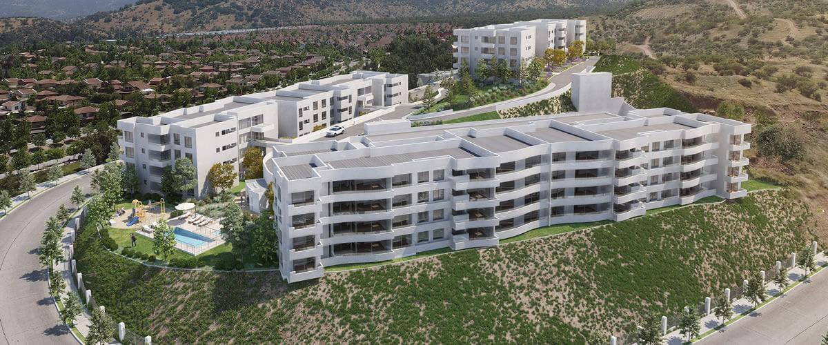 Edificio Cumbres la Dehesa, La Dehesa
